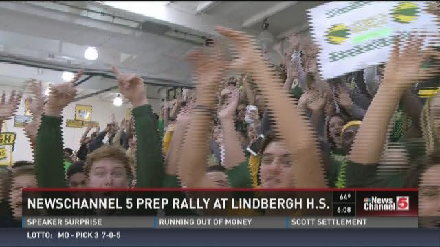 #5PrepRally at Lindbergh High