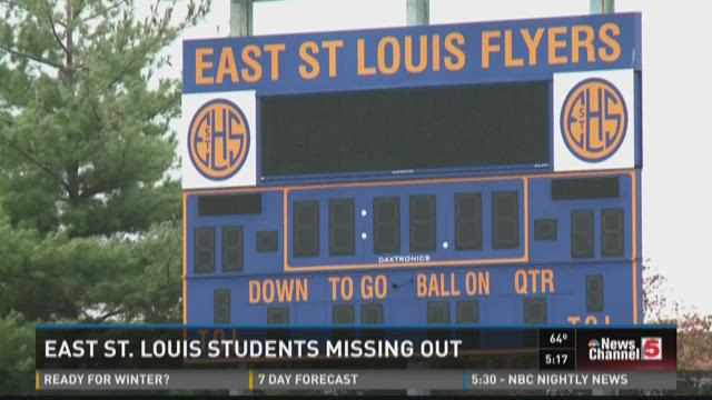 East St. Louis students missing out