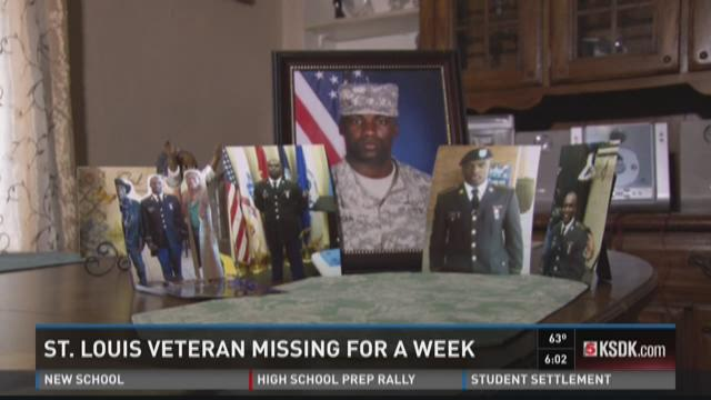 Missing St. Louis veteran