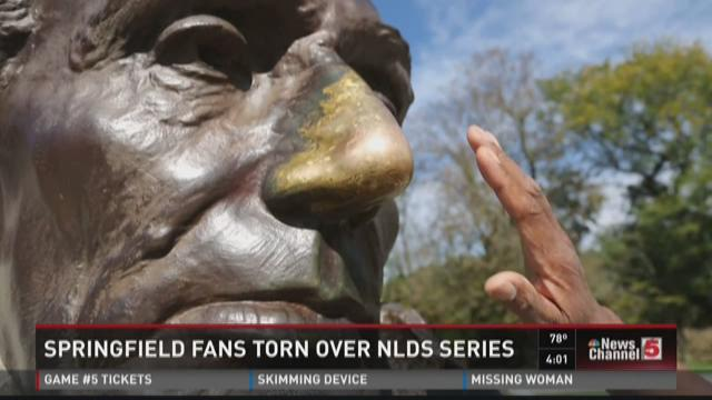 Springfield fans torn over NLDS series