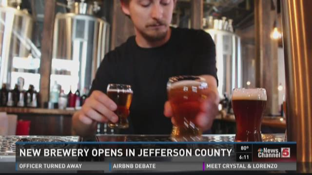 New Brewery opens in Jefferson County