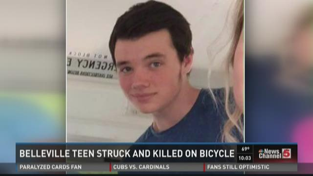 Belleville teen struck and killed on bicycle