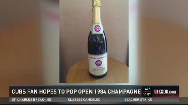 Cubs fan hopes to pop open 1984 champagne