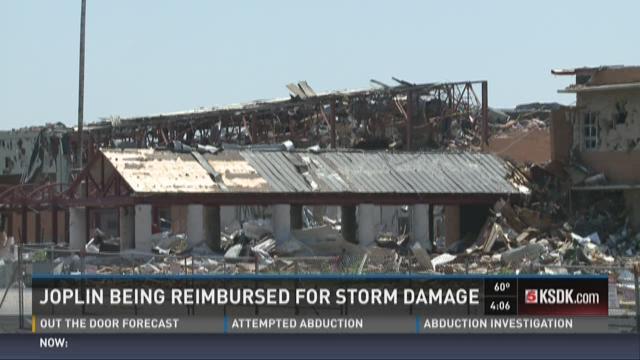 Joplin being reimbursed for storm damage