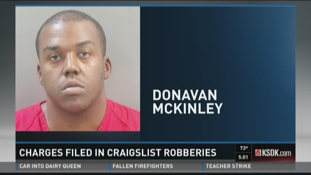 Charges filed in Craigslist robberies