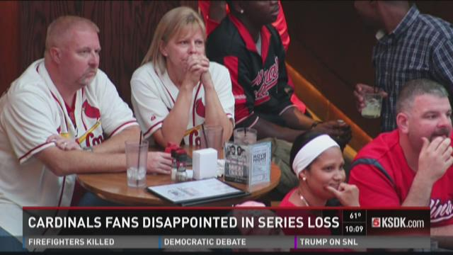 Cardinals fans dissapointed in series loss